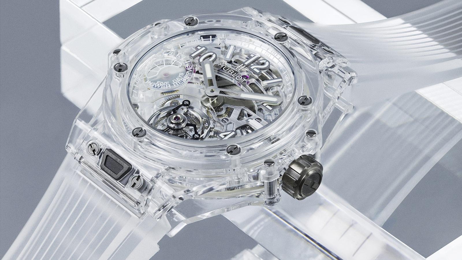 big bang sapphire tourbillon 110