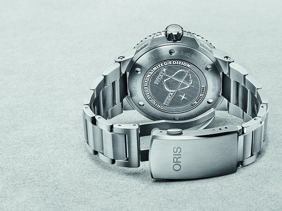 01 733 7730 4185 Set MB Oris Clipperton Limited Edition Original 7879