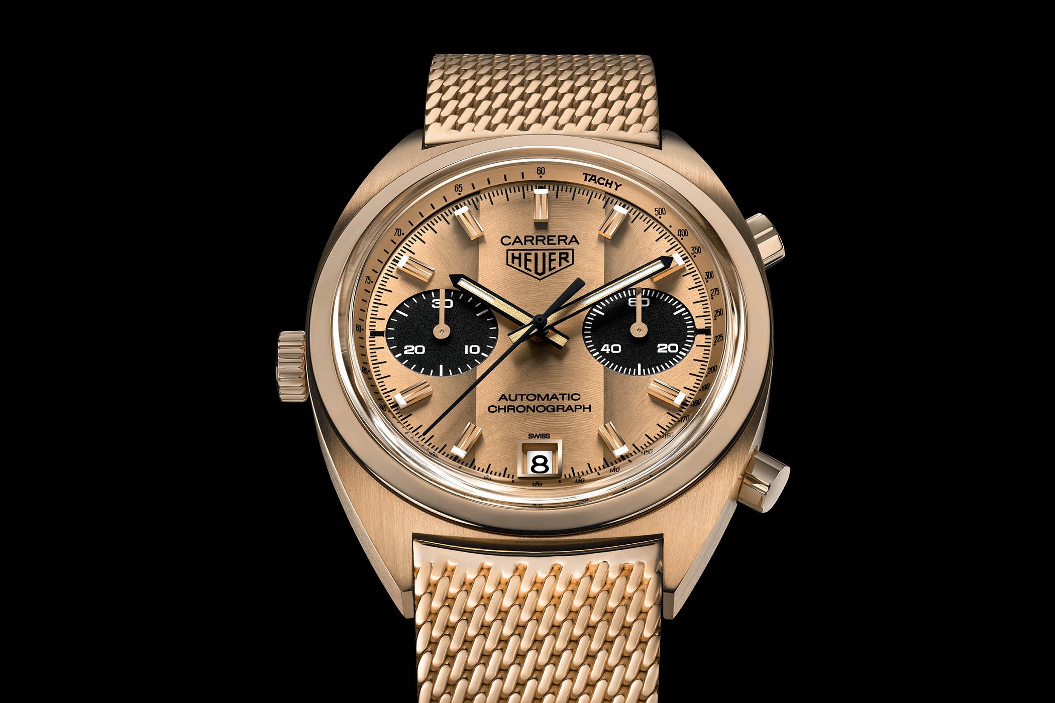 Unique Re edition Heuer 1158 CHN Ronnie Peterson auction Bonhams 1