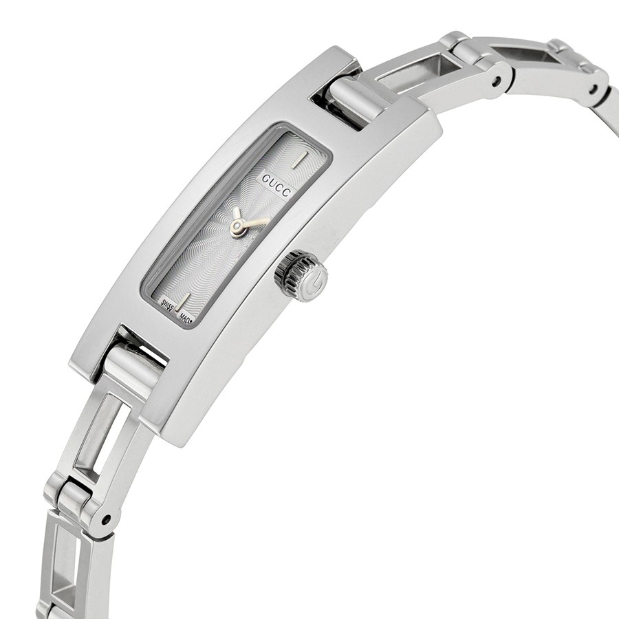 998gucci 3900 series silver dial stainless steel ladies watch ya039533 2