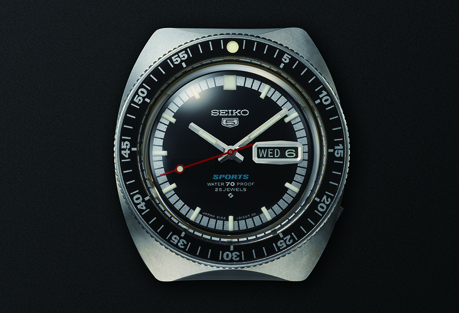 First Seiko 5 Sports from 1968