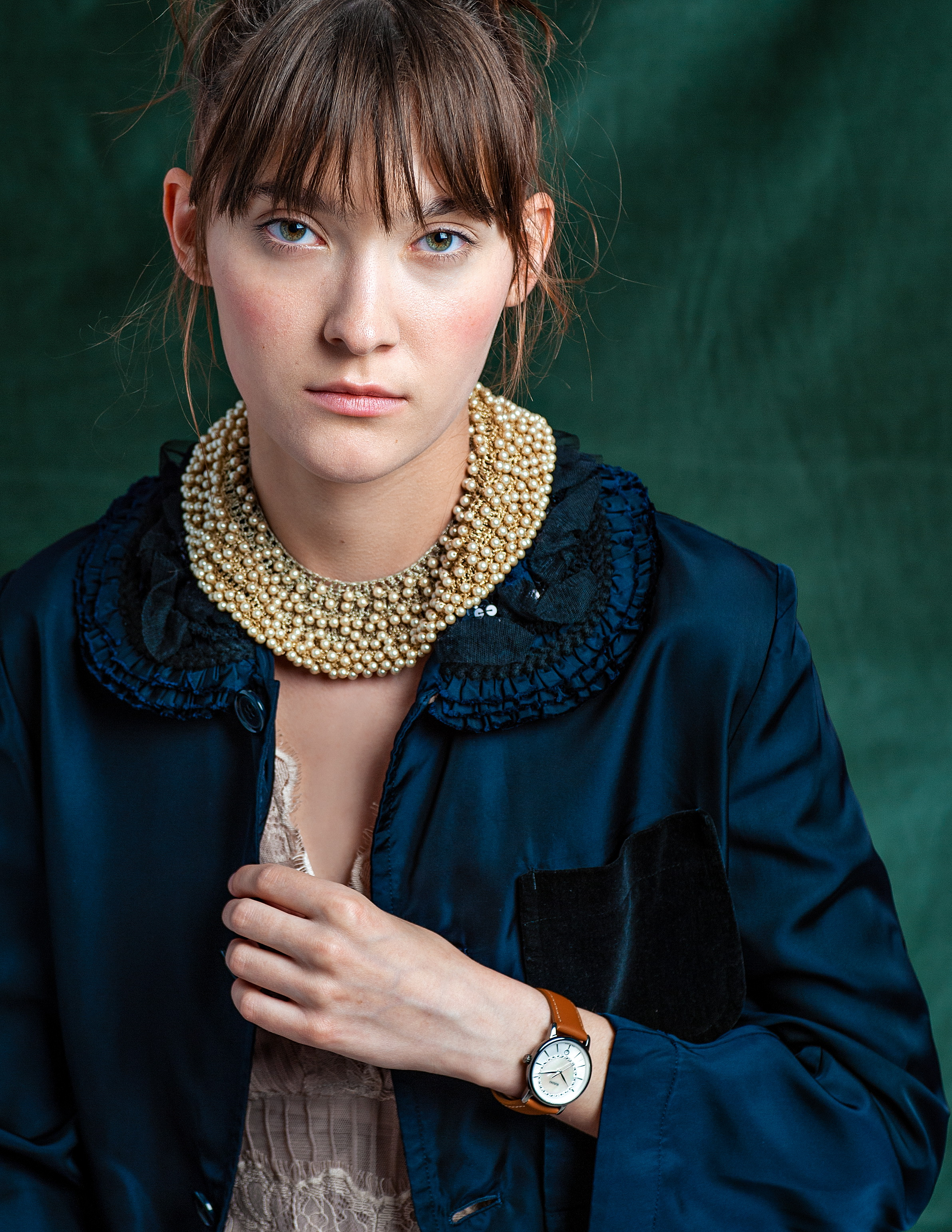 Rado DiaMaster Diamonds Cognac Leather 4