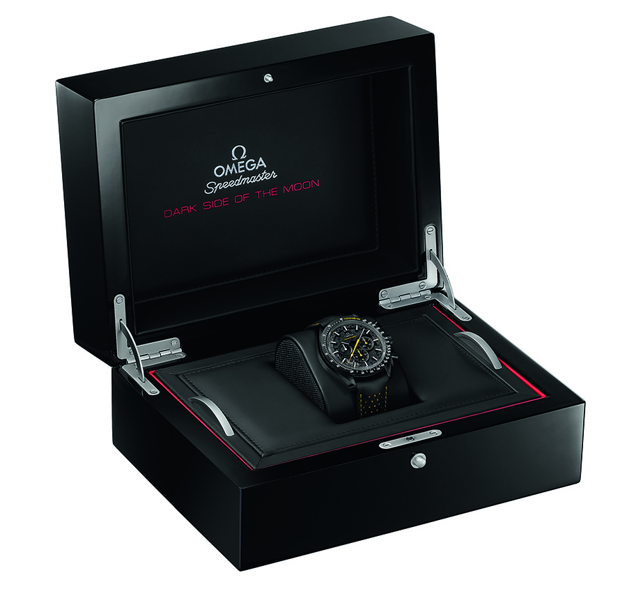 OMEGA Speedmaster Dark Side of the Moon Apollo 8 Box