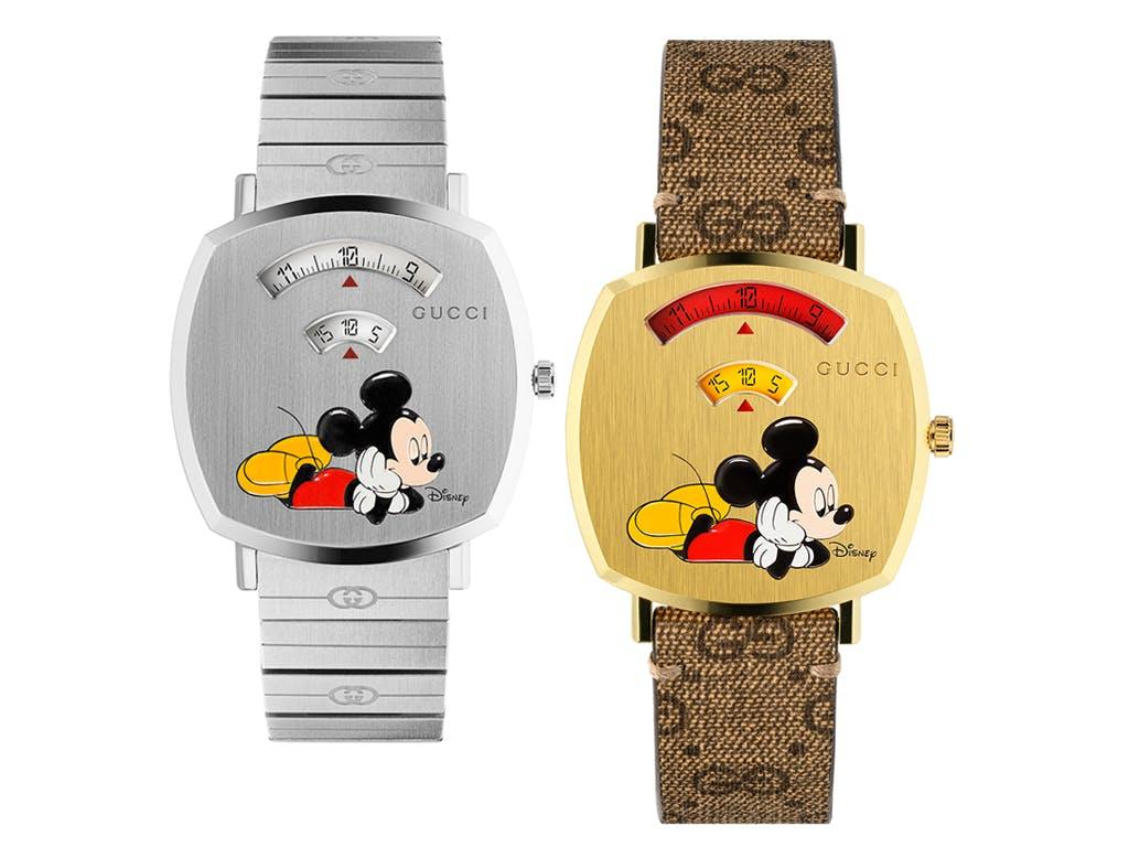 gucci disney grip watch