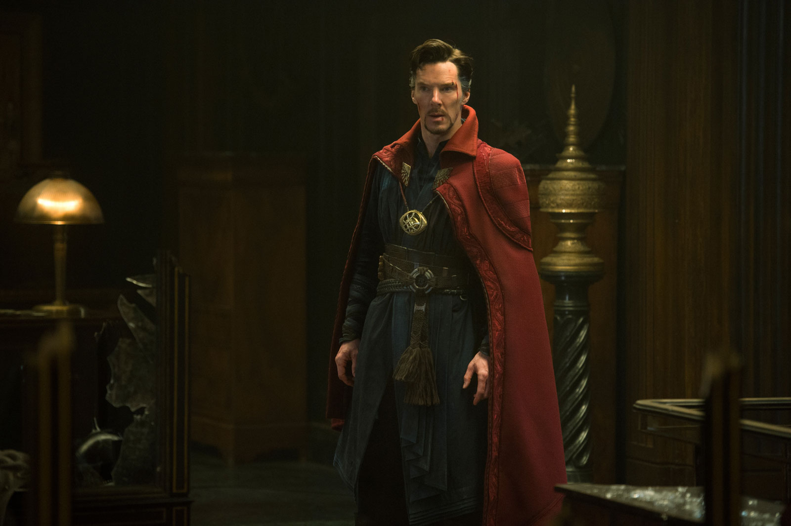 Benedict Cumberbatch title character Doctor Strange