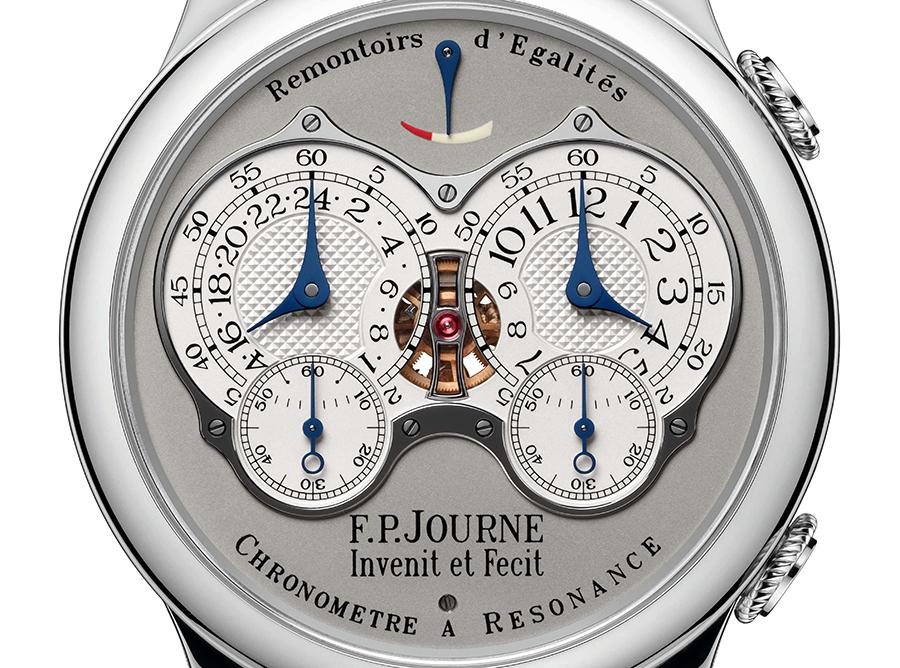 77 F.P.JOURNE CHRONOMETRE A RESONANCE PLATINUM 0