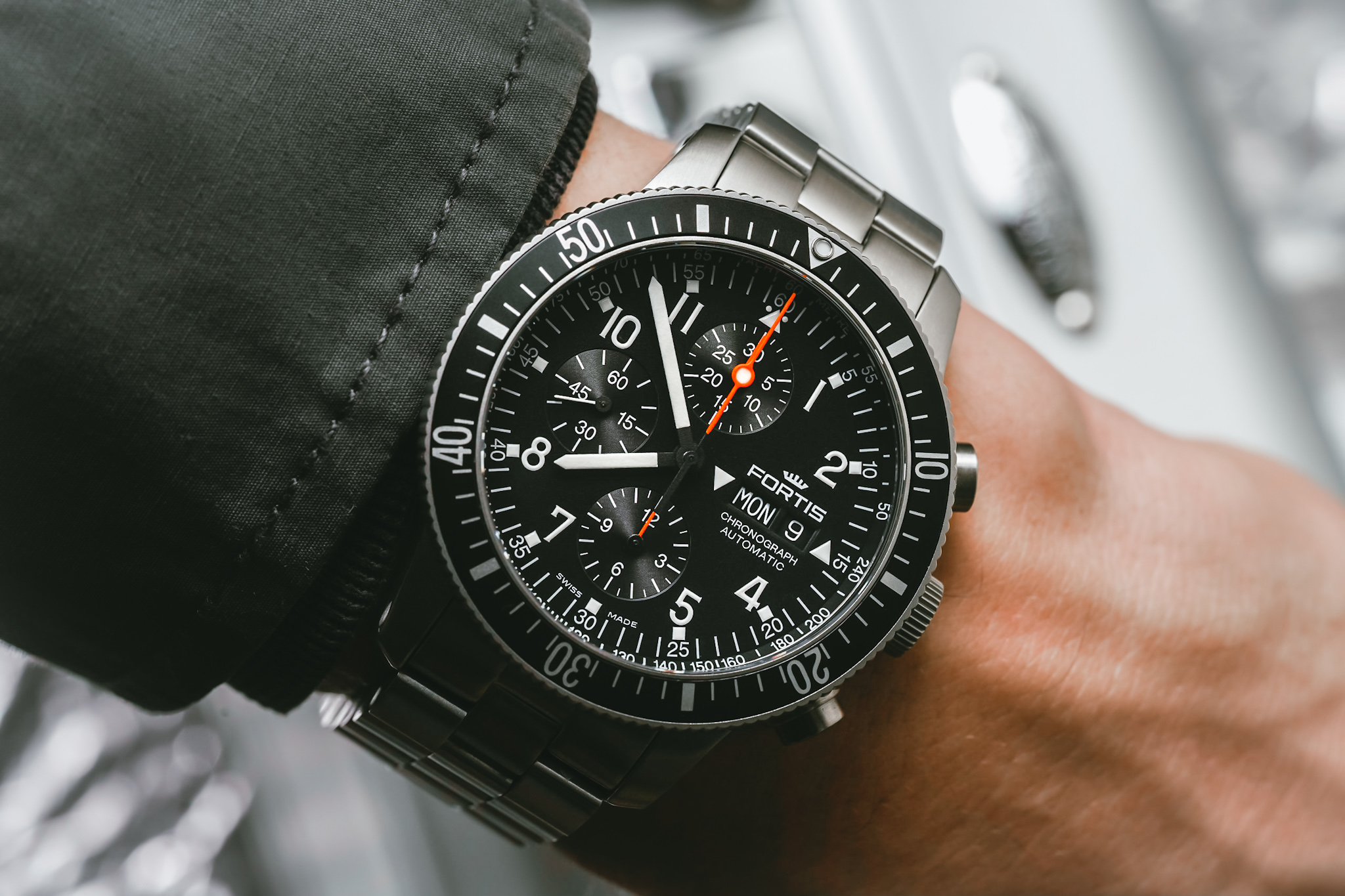fortis b42 official cosmonauts chronograph abtw 6