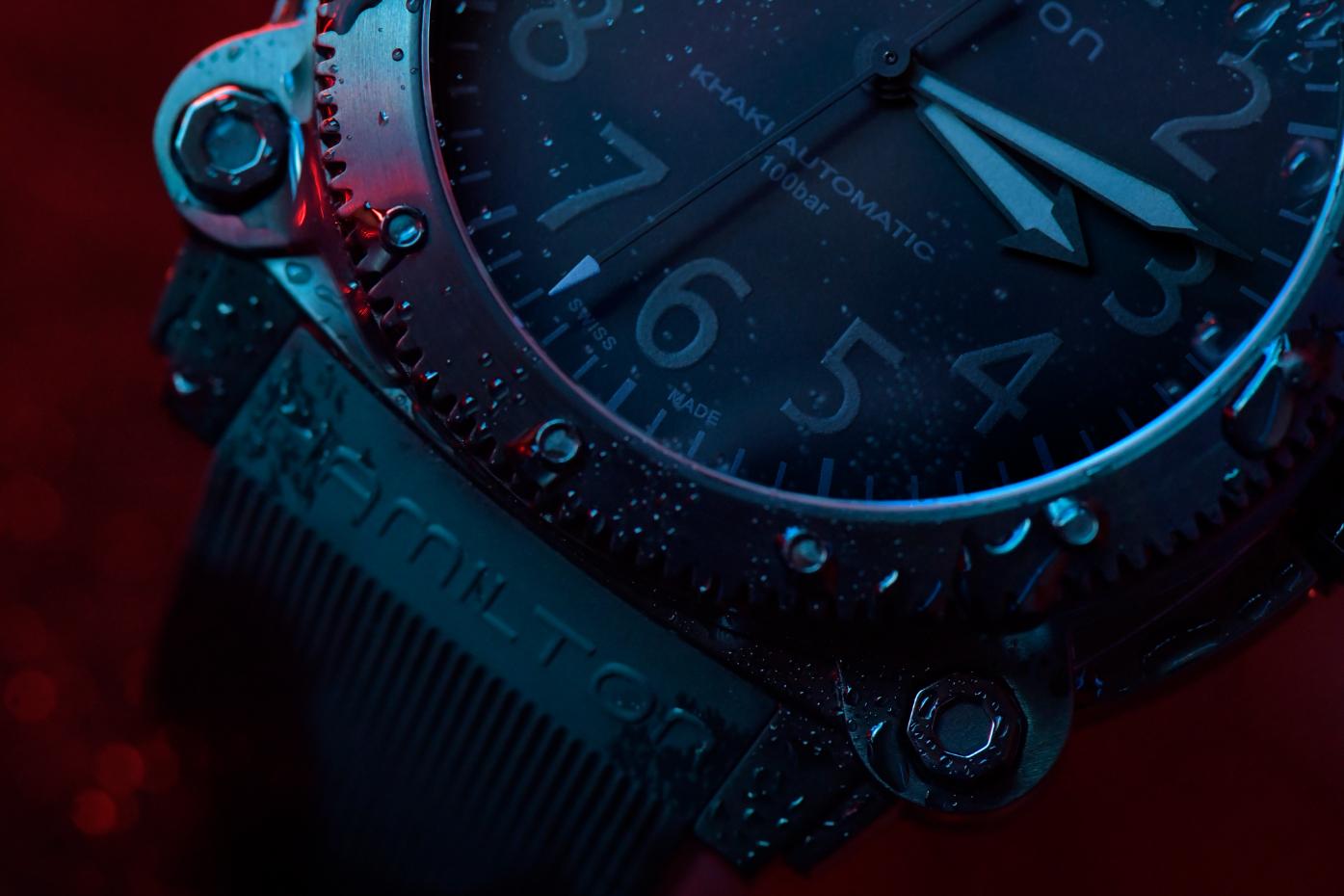 Hamilton Belowzero Titanium Limited Edition Blue H78505331 Lifestyle 4