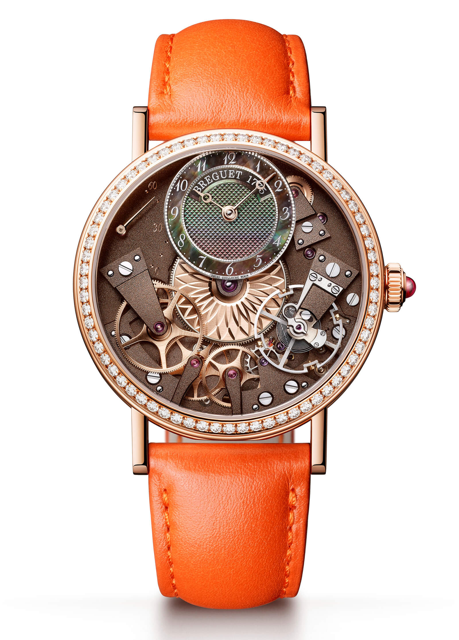 Breguet Tradition 7097BBGY9WU PRTradition Dame 7038BR CT 3V6 D00D Soldier