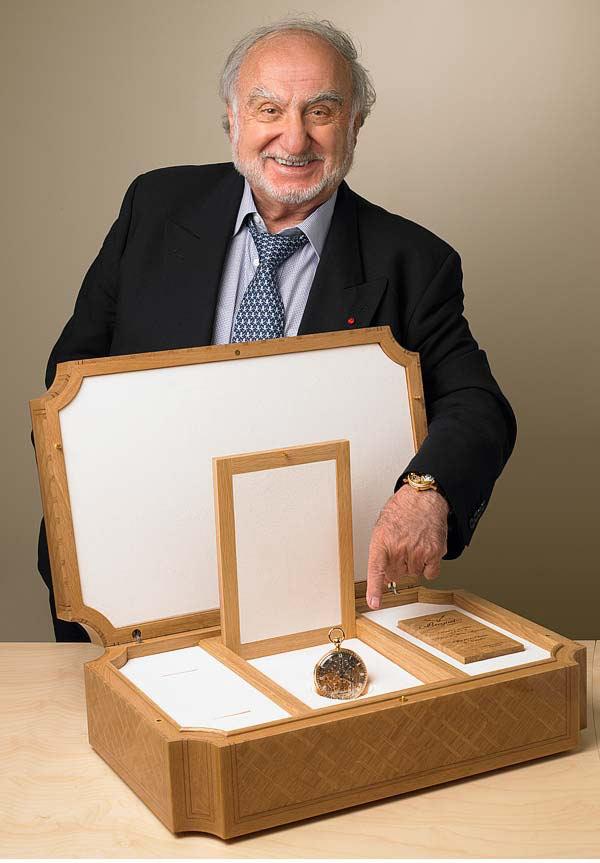 Hayek Breguet 1160 Marie Antoinette box