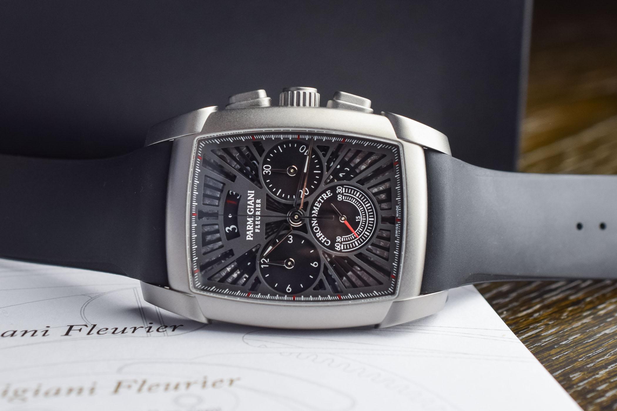 Parmigiani Fleurier Kalpagraphe Chronometer Titanium Slate 4