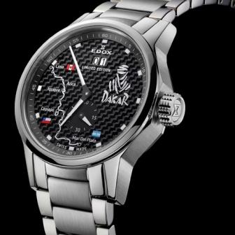 New Edox Mens 64009 3 NIN2 Dakar Limited Edition WatchS