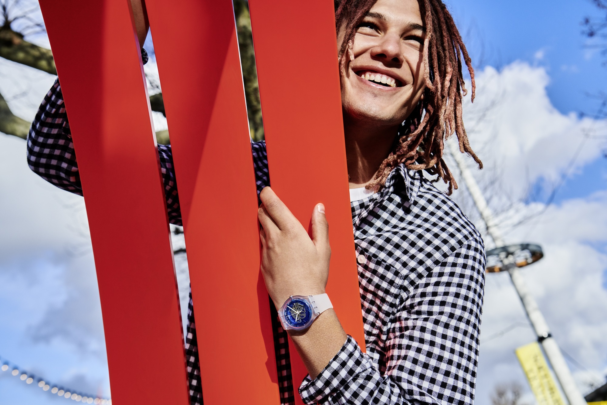 14. The Swatch Vibe Lifestyle Shot