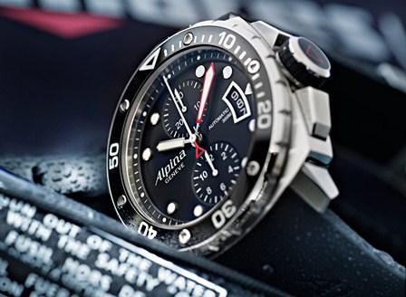 Alpina Geneve Extreme Diver 300 Chronograph Automatic AL 725LB4V26 003 SD1